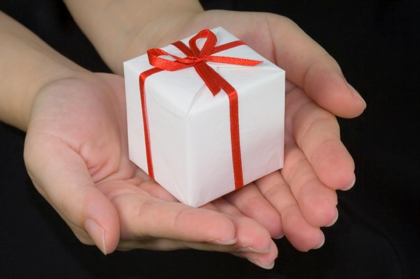 Мы дарим подарки по-английски 545